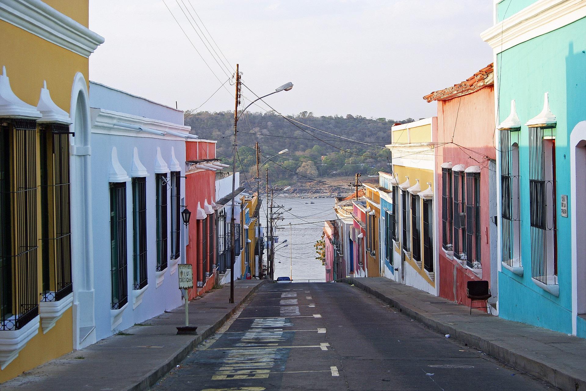 ベネズエラの街並み
