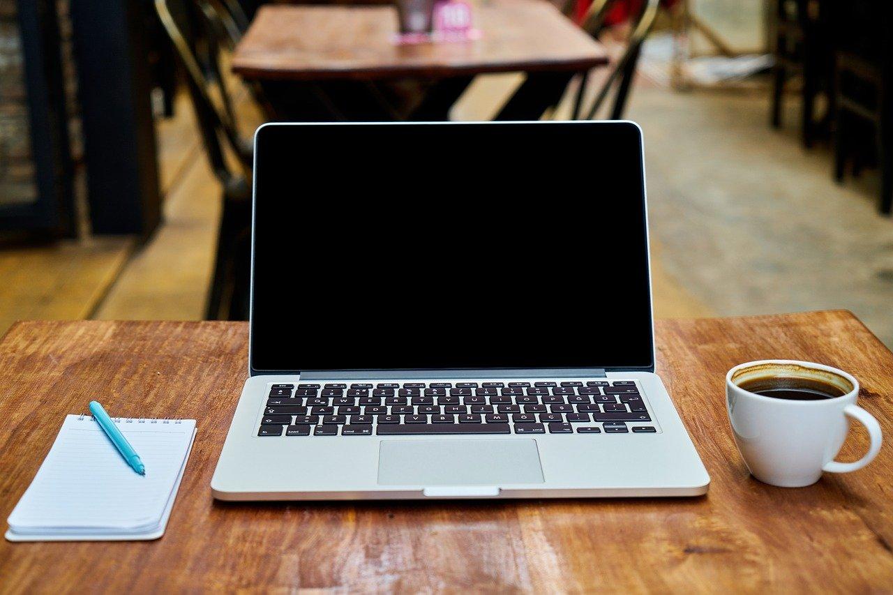 パソコン カフェ ノート