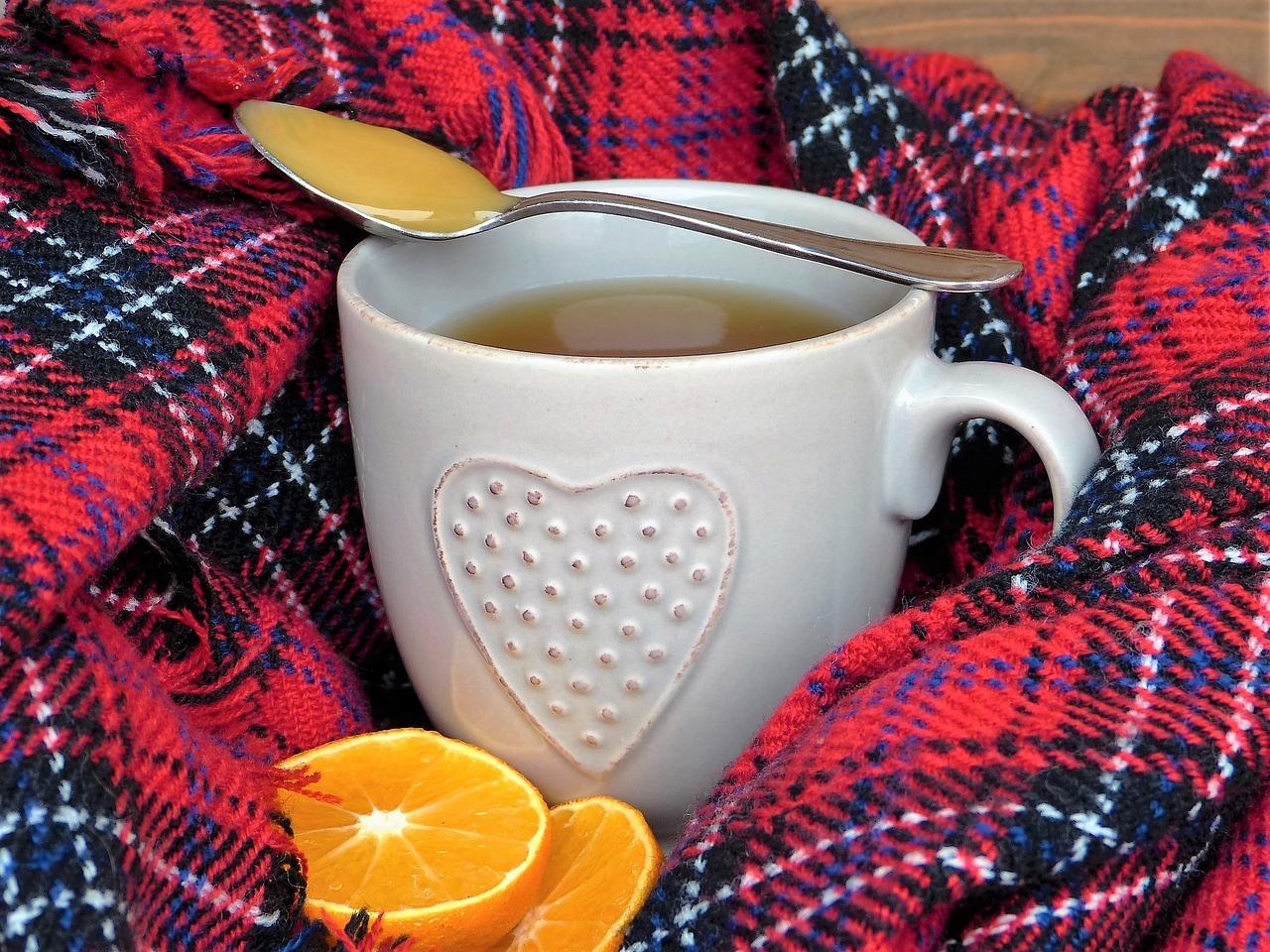 オレンジピール 紅茶