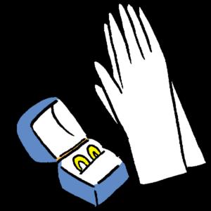 指輪&手袋