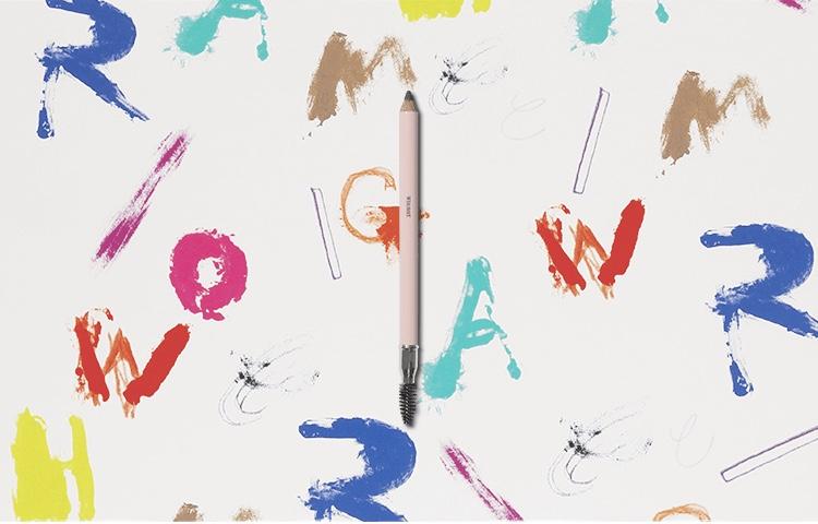 whomee /good support eyebrow pencil me(ナチュラルブラウン)