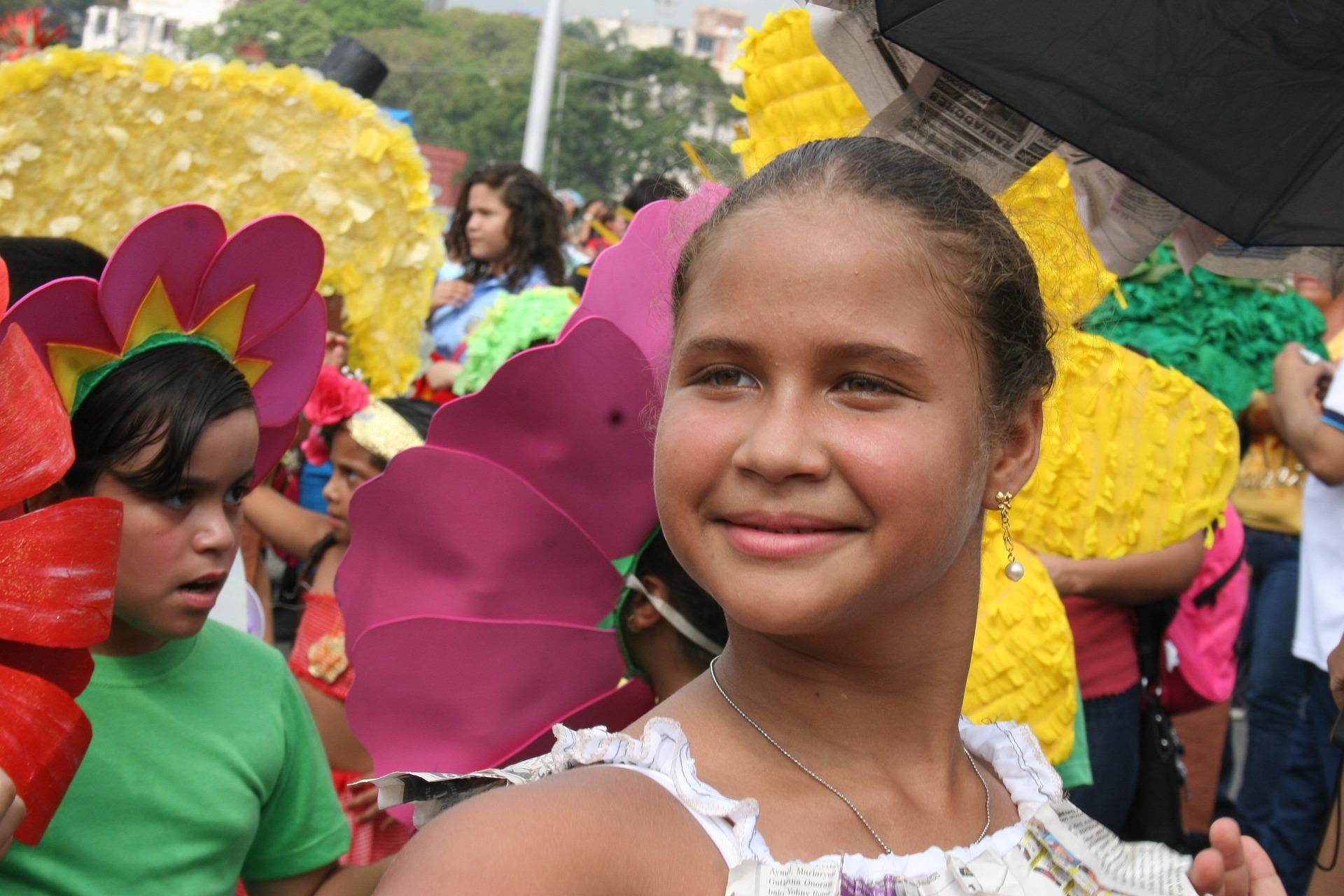 ベネズエラの女の子